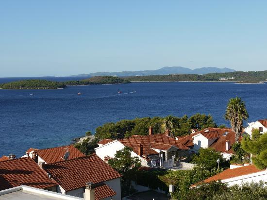 Villa Petricic: Balcony view