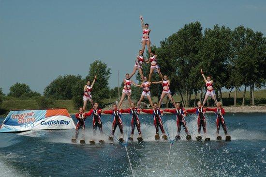 Catfish Bay Water Ski Park - Greatest Show on H2O: Catfish Bay Pyramid