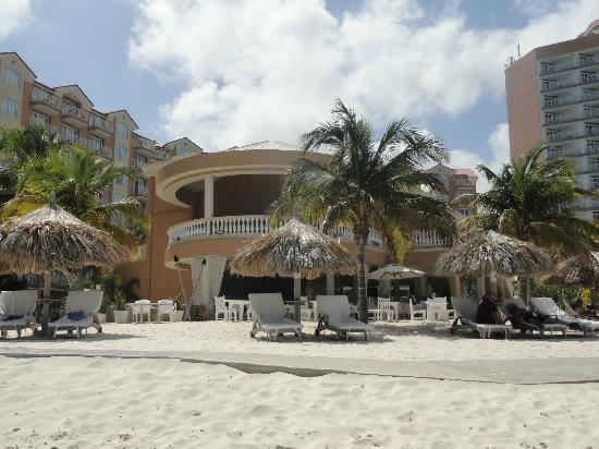 Pool view from room picture of divi aruba phoenix beach resort palm eagle beach tripadvisor - Divi aruba beach resort ...