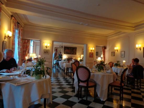 Hotel de Bourgogne : Dining room