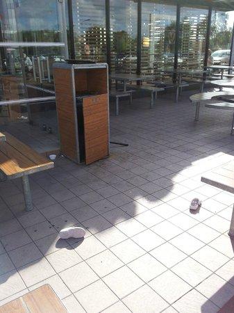 Restaurant Mc Donald's Drive : degoutant