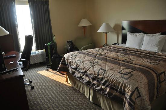 Sleep Inn & Suites: Blick ins Zimmer