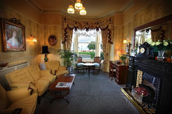 Terrace at St. Tudno Hotel: The Sitting Room