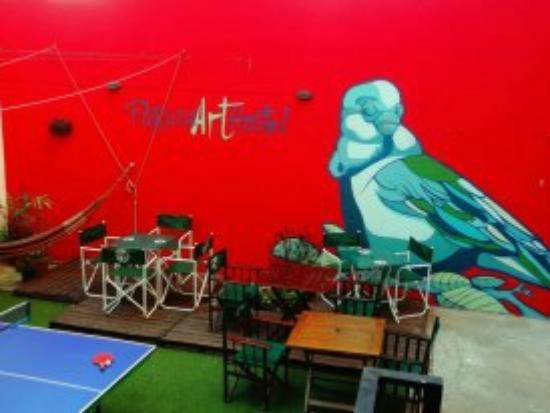 Parana Art Hostel : back garden