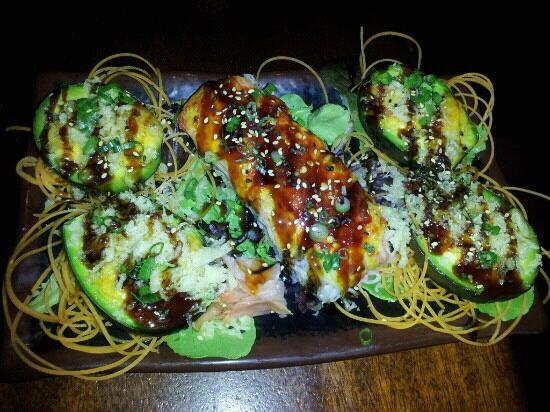 Camille's: Baked Avocados & Red Light District Roll! Above & Beyond yummy!