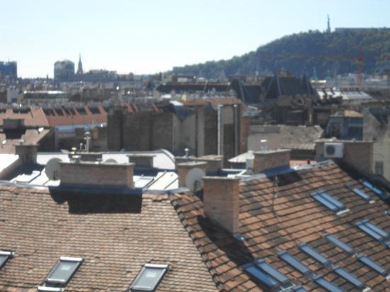 Medosz Hotel : the view 1