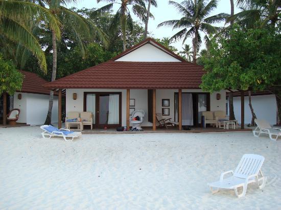 Diamonds Thudufushi: logement pas individuels !!