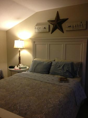 Piney Hill Bed & Breakfast: The cozy bedroom