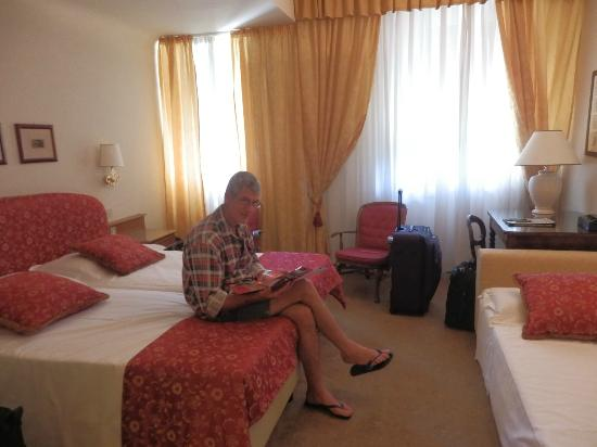 Park Palace Hotel: Porticelli room