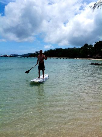 Turtle Island Resort: paddle board