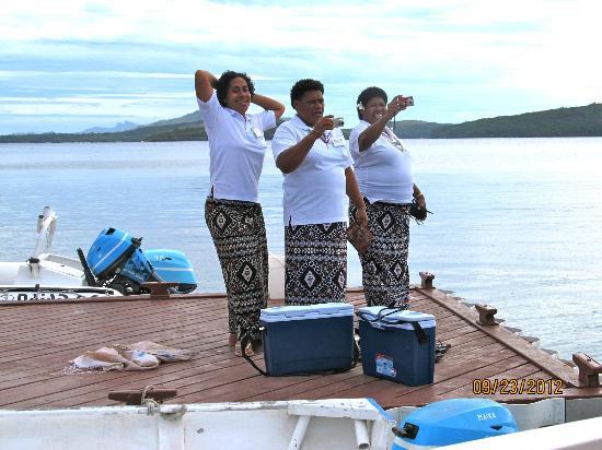 Turtle Island Resort: the mmmas