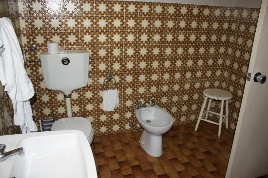 Suico Atlantico Hotel: Badezimmer Zimmer 308