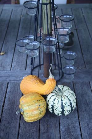 The Old School Bed and Breakfast: Autumn Decorations