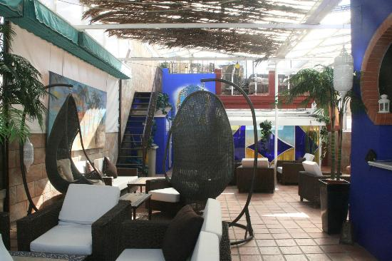Espacio Azahar: Terrasse sur le toit