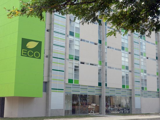 Ecostar Hotel: Fachada principal
