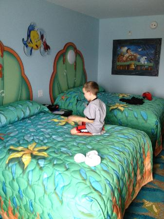 Little Mermaid Room - Picture of Disney\'s Art of Animation ...