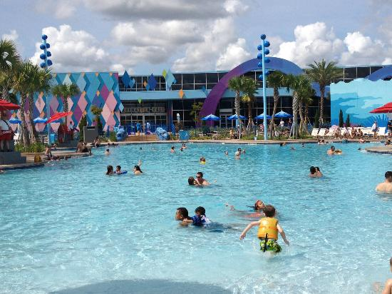 Disney's Art of Animation Resort: View from Finding Nemo Pool