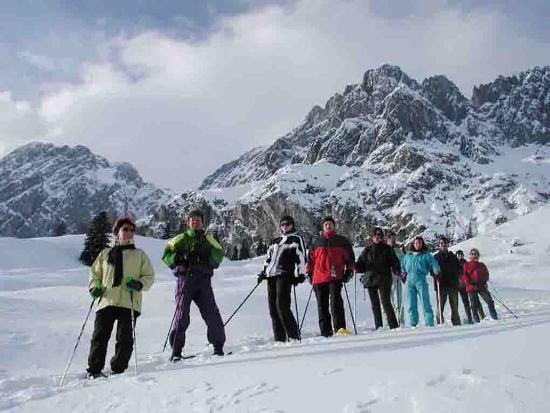 Berghotel Arthurhaus: Schneeschuhwanderungen inklusive