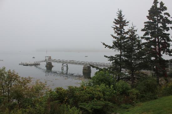 The Claremont Hotel: View overlooking their dock
