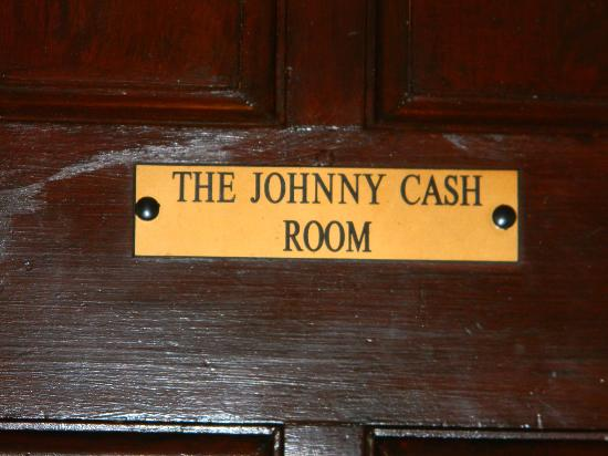 Markree Castle Hotel: Johnny Cash Room