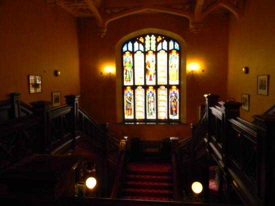 Markree Castle Hotel: Stained glass