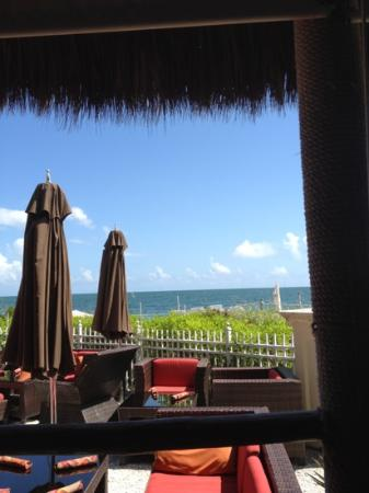 Ritz-Carlton Spa, Key Biscayne: cantina beach bar