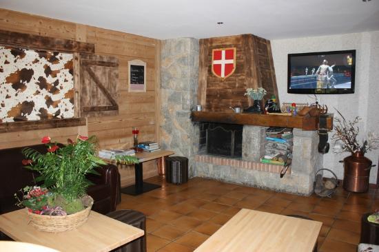 Hotel l'Igloo: Notre Salon