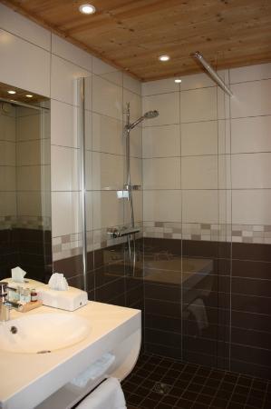 Hotel l'Igloo: Une salle de bain