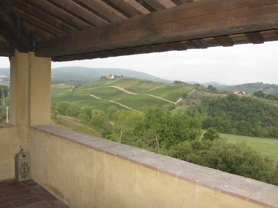 Torraccia di Chiusi: View from the tower