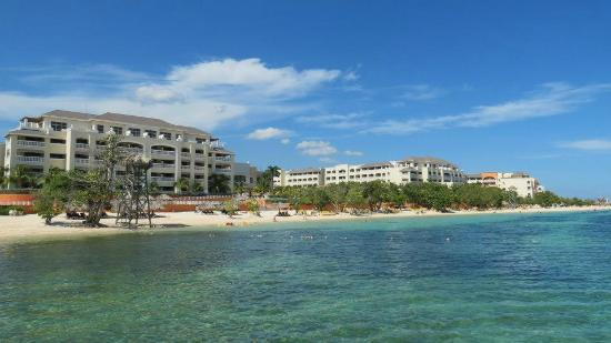 Iberostar Rose Hall Beach Hotel: View From Ocean