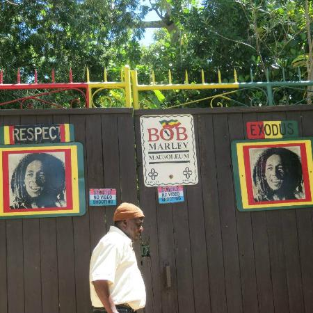 Iberostar Rose Hall Beach Hotel: Bob Marley Mausoleum