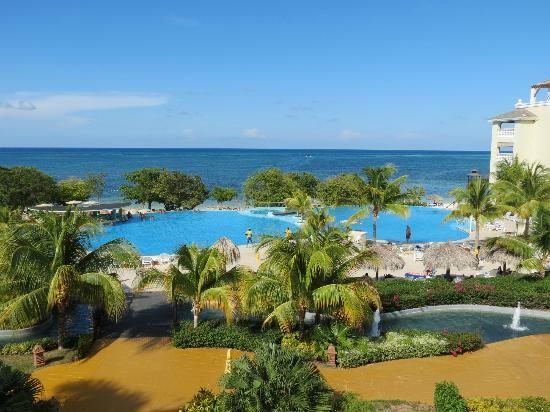 Iberostar Rose Hall Beach Hotel: View From Hotel Balcony