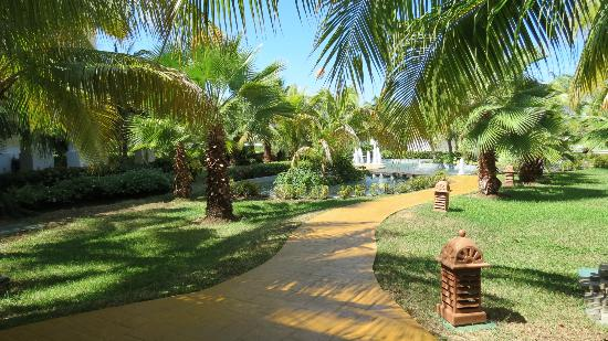 Iberostar Rose Hall Beach Hotel: Hotel Grounds
