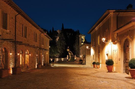 Rosewood Castiglion Del Bosco: The Borgo at night