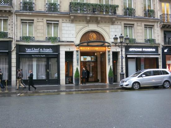 Park Hyatt Paris - Vendome : hotel