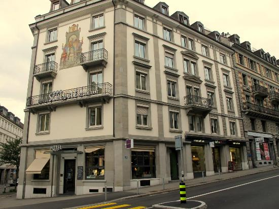 Hotel Scheuble: veduta dell'hotel