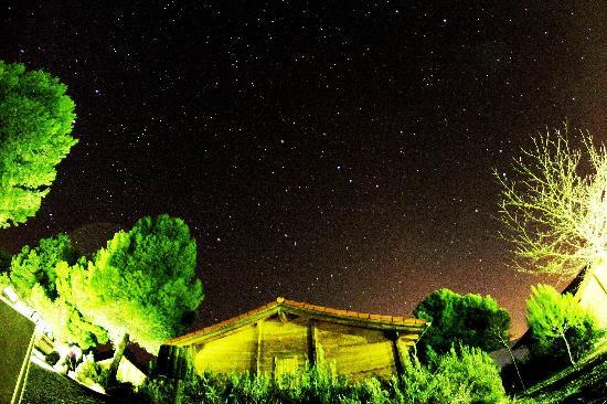 Aras Rural : Cabaña de noche