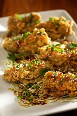 Zea Rotisserie & Grill : Asian Oysters- A Seafood Season Specialty!