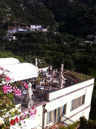 Hotel Royal Positano : beautiful terrace