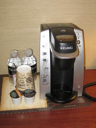 Monte Carlo Resort & Casino: Awful coffee machine