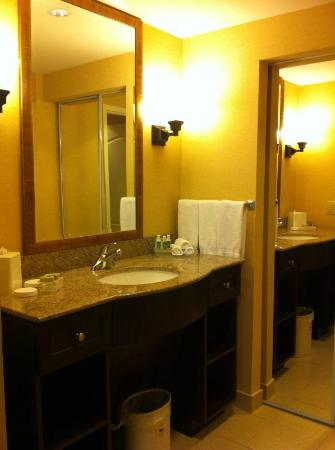 Homewood Suites by Hilton Toronto Airport Corporate Centre: Roomy bathroom