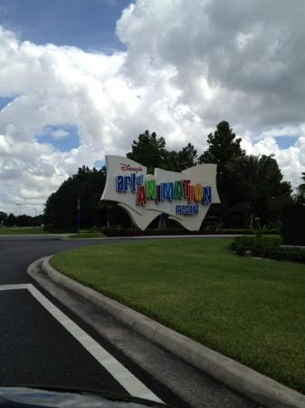 Disney's Art of Animation Resort: The main entrance