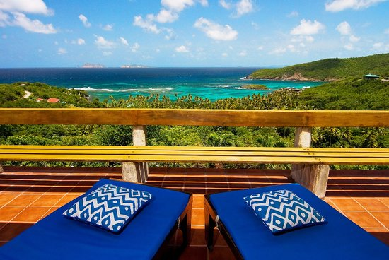 Sugar Reef Bequia : View from Veranda at Sugar Reef's French House