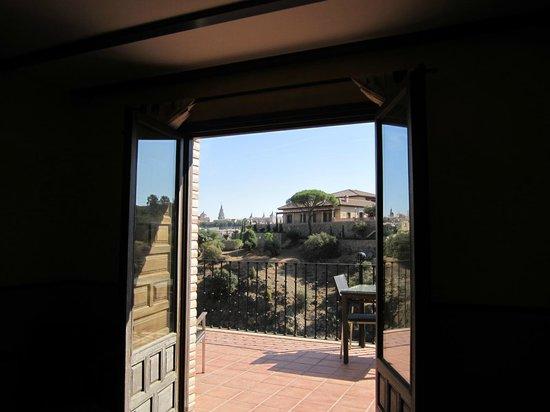 AC Hotel Ciudad de Toledo: View from the bed