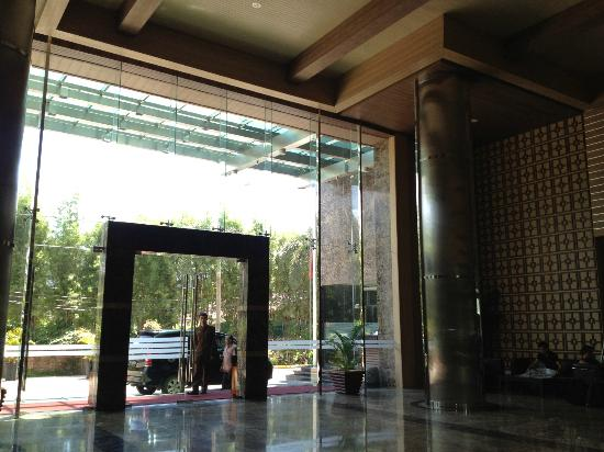 The BCC Hotel & Residence: Hotel entrance
