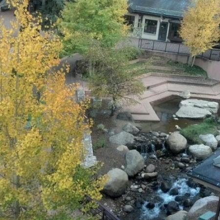 Beaver Creek Lodge: View from our King Suite