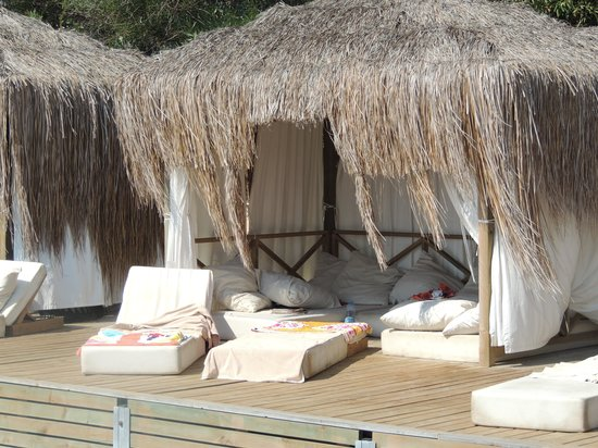 Kadikale Resort: lovely cabanas