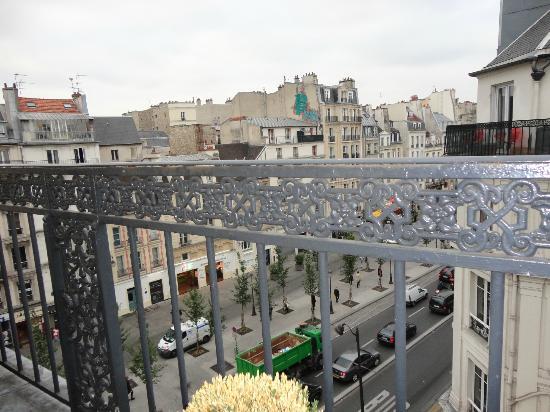 Hotel Emile Parijs : View from 5th floor picture of hotel emile paris tripadvisor