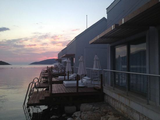 Doria Hotel Yacht Club Kas: sunset