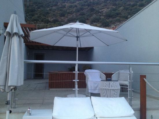 Doria Hotel Yacht Club Kas: private jacuzzi - nice